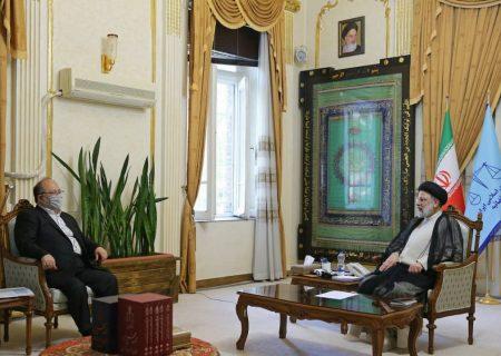 وزیر تعاون،کار و رفاه اجتماعی با آیتالله رئیسی دیدار کرد