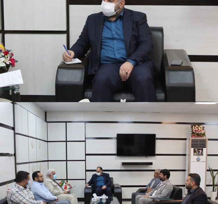 نشست گروههای مطالبهگری و جهادی ستاد امر به معروف و نهی از منکر با فرماندار شوشتر