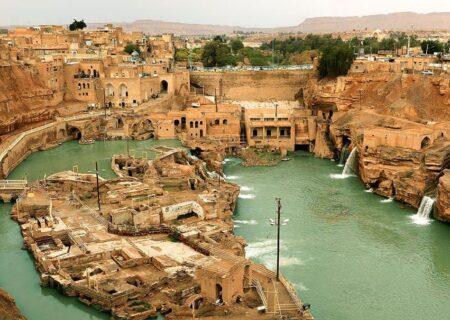 لزوم قطع فوری آب و رطوبت درحال نفوذ به دیواره غربی سازههای آبی ـ تاریخی شوشتر