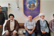 امام جمعه و مدیر حوزه علمیه شوشتر از کتابخانه علامه شیخ شوشتری(ره) وابسته به آستان قدس رضوی بازدید کردند